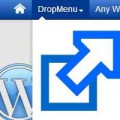 make wordpress menu item open new window
