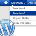 making wordpress menu unclickable