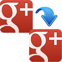 How to transfer / merge Google plus account to another account