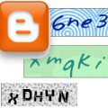add captcha blogger comments