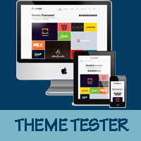 Test a wordpress theme in live environment only for admininstrator