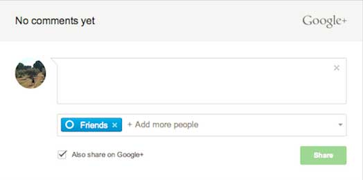Google plus comments advantages