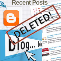 How to recover deleted blog post on Blogger – draft, published post