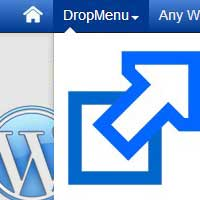How to make wordpress menu item open in new window / tab