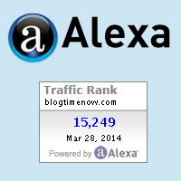 Alexa ranking widget for wordpress, adding Alexa widget in Blogger