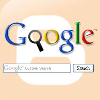 Add Google custom search engine in Blogger - Google search bar