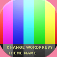 How to change wordpress theme name folder and css, hide theme name