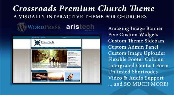 cross roads church theme by mojo themes