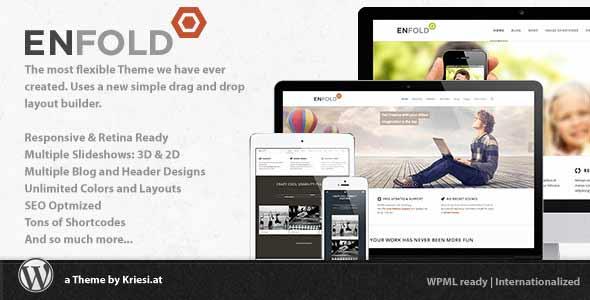 Enfold responsive best selling wordpress theme