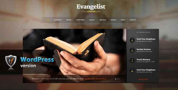 Envangelist church template