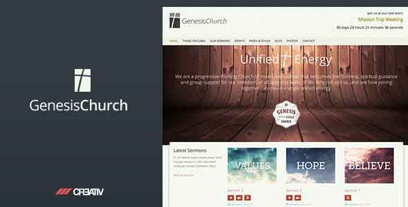 Genesis church theme