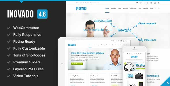 inovado premium top selling theme