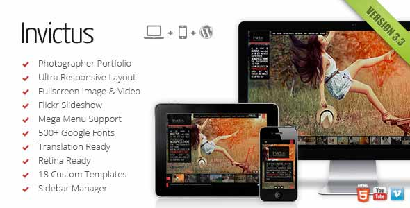 popular wordpress theme on themeforest