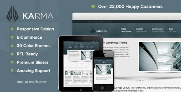 Best selling wordpress theme - karma