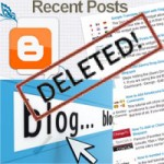 How to revover deleted blog post on Blogger