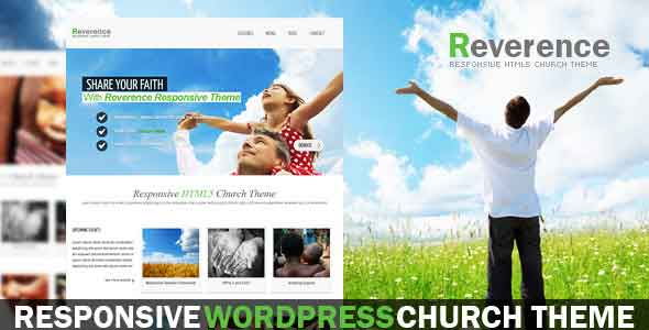 reverence non profit charity theme