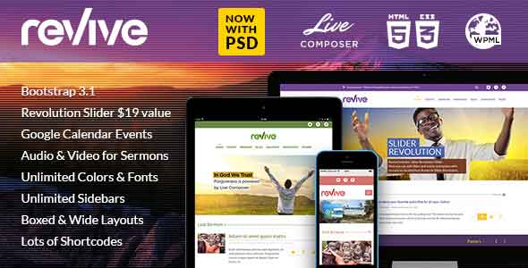 revive church responsive