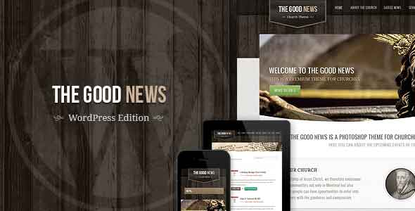 the good news responsive wordpress theme
